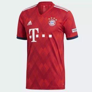NWT! Adidas Bayern Munich Men's Home Soccer Jersey